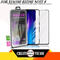 Tempered Glass Xiaomi Redmi Note 8 Screen Protector Full Layar