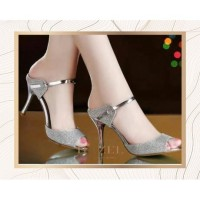 Sepatu High Heels 5cm Premium Gliter Luxury Edition | Hazel SPW-DJ058