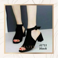 Sepatu Hak High Heels Wanita Polos| Hazel SPW-DE015 - Tan, 36