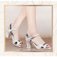 High Heels 5cm Premium Gliter Luxury Edition | Hazel SPW-DJ059 - Hitam, 37