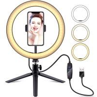 Ringlight 20cm Lampu Halo O Ring Light Youtuber Makeup Lighting Kamera