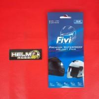 Fivi film - Sticker anti gores anti air hujan silau anti Rain helm