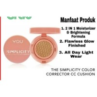 You The Simplicity Color Corrector CC Cushion by YOU Makeups