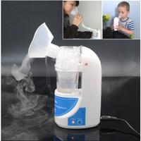 Nebulizer Omicron MESH Portable Ultrasonic Alat Bantu Uap Pernafasan