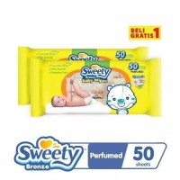 sweety baby wipes buy one get one parfum 50 sheets
