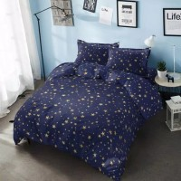 Kintakun Bed Cover Only (Besar) - STARDUST - D'luxe Gold - 230x240 cm