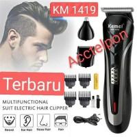 kemei hair clipper km-1419 cukuran rambut,kumis,jenggot,bulu hidung