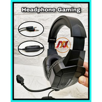 Headphone Bando Gaming Stereo Smartphone atau PC Wired Headset X30