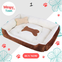 kandang anjing bantal anjing pet bed kasur kucing tempat tidur kucing