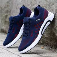 Sepatu Sneakers Pria Sport Casual Terbaru