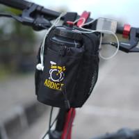 Tas Sepeda Lipat Tempat Botol Minum Multifungsi Bahan Kualitas Premium