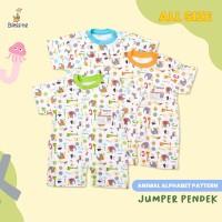 Blessing Babywear-baju bayi-jumper pendek-alphabet
