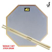Drum Pad 12 Inch DW Drums BONUS 1 SET Stick Drumpad STKD-61 DPD-12