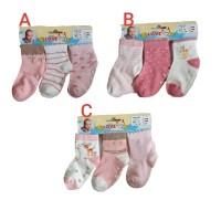 3 SET kaos kaki bayi baby karet anti slip perempuan cewek cewe