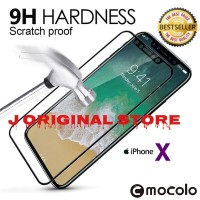 MOCOLO Tempered Glass Full Cover Iphone X IphoneX 9H Full Glass