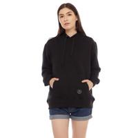 Cottonology Wanita Sweater Jaket Hoodie Hana Hitam