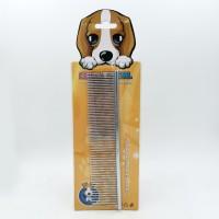 Saiya - sisir besi pet grooming untuk anjing dan kucing