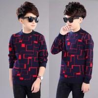 Baju Atasan Kaos Anak Kecil Cowok Pria Lengan Panjang Verzo Fashion