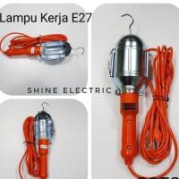 LAMPU KERJA / LAMPU BENGKEL 10M 10METER 10 METER FITTING E27