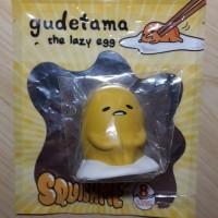 Squishy Gudetama the Lazy Egg Squishme Licensed Sanrio USA Series 1