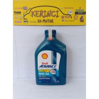OLI SHELL ADVANCE 10W-40 AX7 MATIC 4T 0.8L - OLI MOTOR MATIC AX7 4T