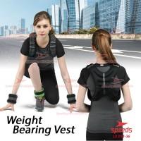 Weighted Vest Rompi Pemberat Beban 5 kg Weight Bearing 014-36