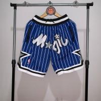 Jersey Basket Swingman NBA Celana Just Don Shorts Orlando Magic biru