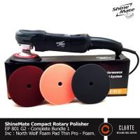 mesin poles mobil shinemate EP 801 G2 komplit paket garansi 1 thn