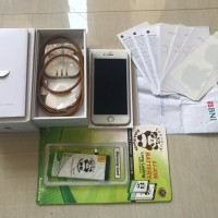 IPhone 6s Rosegold 64GB Fullset bawaan (Pemakaian beli dari baru)