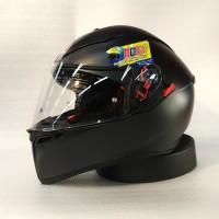 Helm AGV K3SV Solid Matt Black || Original Product
