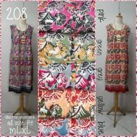 Daster ucansee katun batik premium(adem.lembut)all size fit to m.L.xL