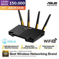 ASUS TUF Gaming AX3000 Dual Band WiFi 6 Gaming Router