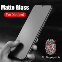 TEMPERED GLASS MATTE ANTI MINYAK FINGER GLARE XIAOMI REDMI 9 9A 9C