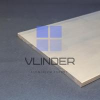 Plat Strip Aluminium 152 mm x t. 6.35 mm