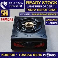 Kompor 1 Tungku PROGAS Bukan Rinnai Quantum SNI Lokal Murah Gas LPG