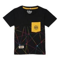 ORKIDS Baju Kaos Anak Floyas Black