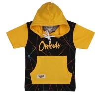 ORKIDS Baju Kaos Anak Triango Black Yellow