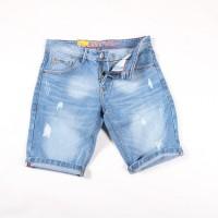 celana pendek jeans sobek pria/celana pendek sobek/celana ripped denim