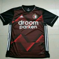 Jersey Baju Bola Feyenord Feyenoord Away Hitam New 2020 2021 Grade Ori