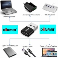 DINAMI USB TYPE C ADAPTER HIGH QUALITY