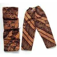 free ongkir celana baim batik 0-11 tahun - 3-6 bulan