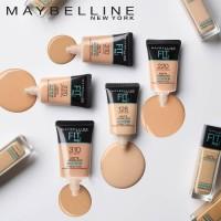 Maybelline Fit Me Foundation Tube Matte + Poreless Liquid 18ml