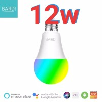BARDI Smart LIGHT BULB RGBWW 12W Wifi Wireless Home Automation 12 w