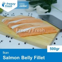 Salmon Belly Fillet- Daging Perut Salmon 500 Gram