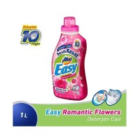 Attack Easy Liquid Romantic Flowers Detergent Cair [1000 mL]