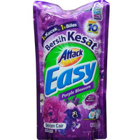 Attack Easy Liquid Purple Blossom Deterjen Cair [800 mL]