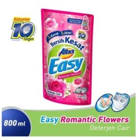 Attack Easy Romantic Flowers Detergen Cair [800 mL]
