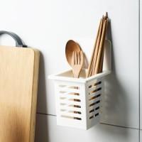 Tempat Sendok Garpu Alat Dapur Sikat Gigi Odol Wc Dapur Anti Air Rak