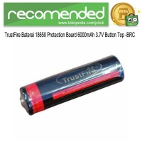 UltraFire Baterai Li-ion 18650 6000mAh 3.7V Button Top - BRC 18650 -
