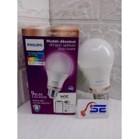 Lampu Philips SMART WIFI LED 9W WARNA (COLOR) SMARTLAMP Philips ORI!!